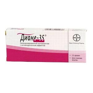 Диане-35 беременность на отмене